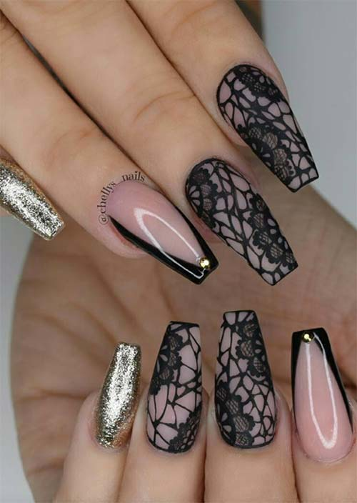 How to Do Acrylic Nails: 51 Cool Acrylic Nail Designs to Try - Glowsly