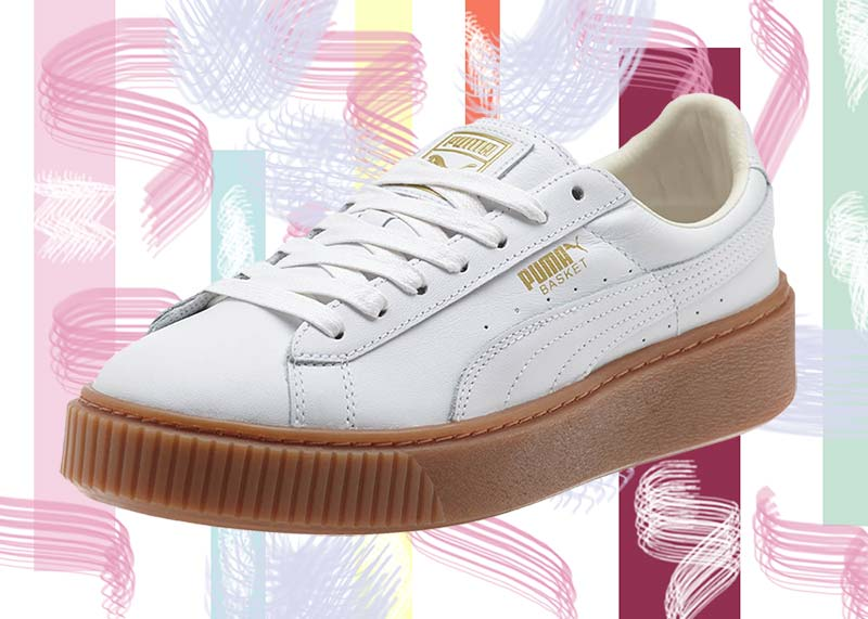 Best Puma Sneakers for Women: Puma Basket Platform Trainers