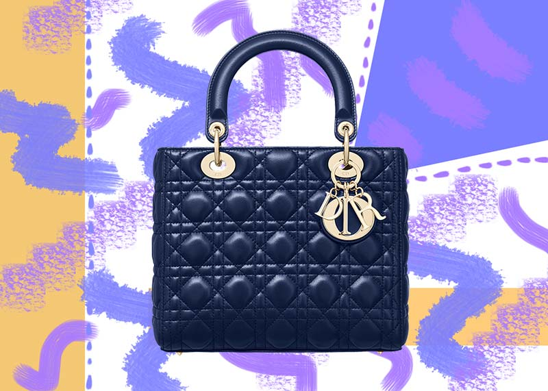 Best Dior Handbags of All Time: Lady Dior Bag