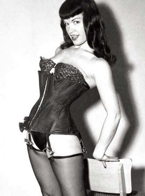 Best Lingerie Models of All Time: Bettie Page
