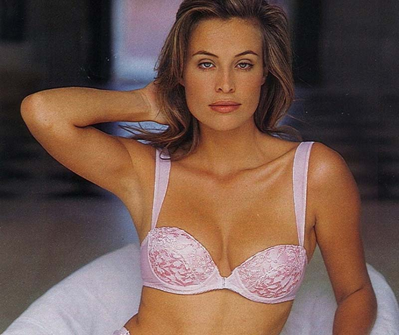 Best Lingerie Models of All Time: Frederique van der Wal
