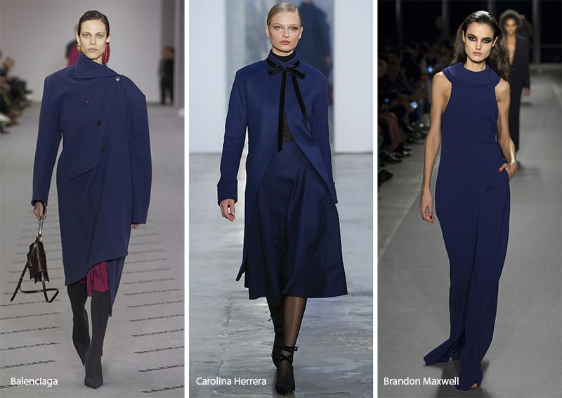 Fall/ Winter 2017-2018 Color Trends: Navy Peony