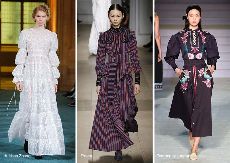 Fall/ Winter 2017-2018 Fashion Trends: Prairie Dresses
