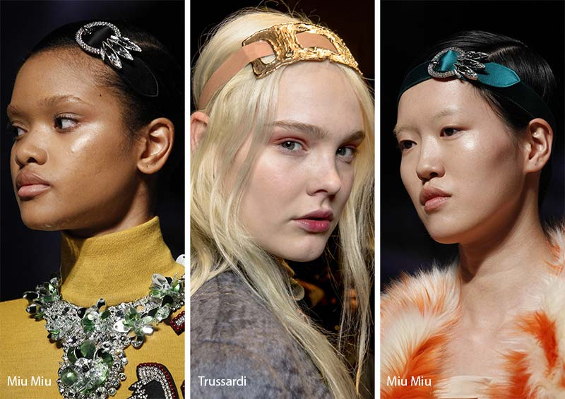 Fall/ Winter 2017-2018 Hair Accessory Trends: Belt Headbands