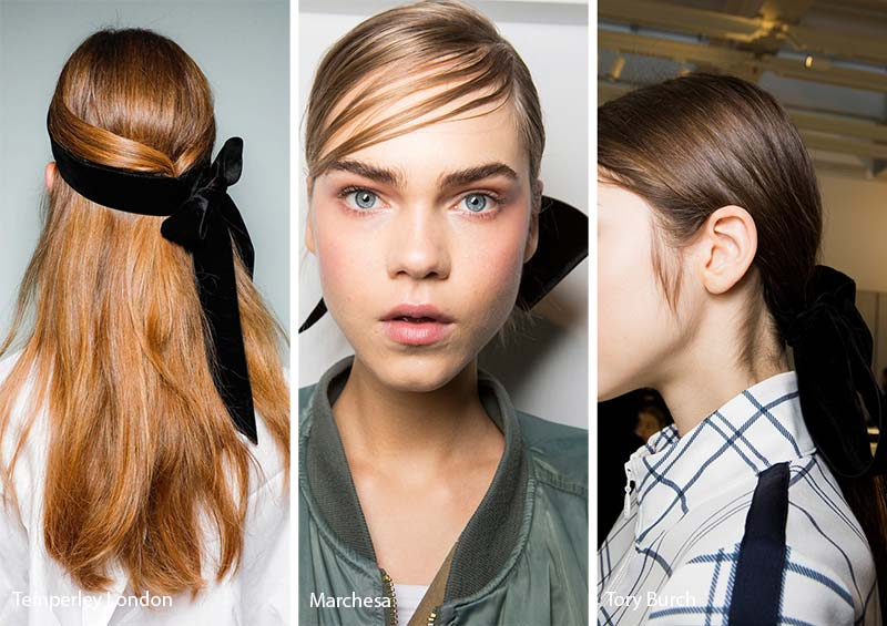 Fall/ Winter 2017-2018 Hair Accessory Trends: Black Bows