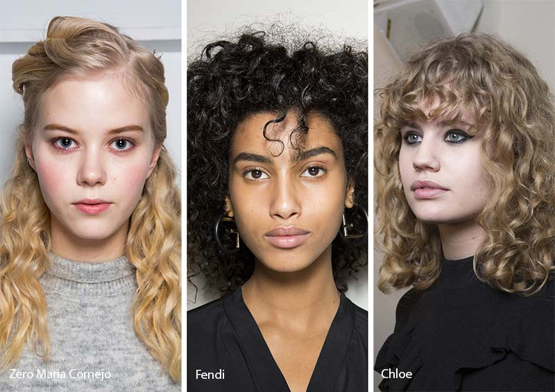 Fall/ Winter 2017-2018 Hairstyle Trends: Naturally Curly Hair