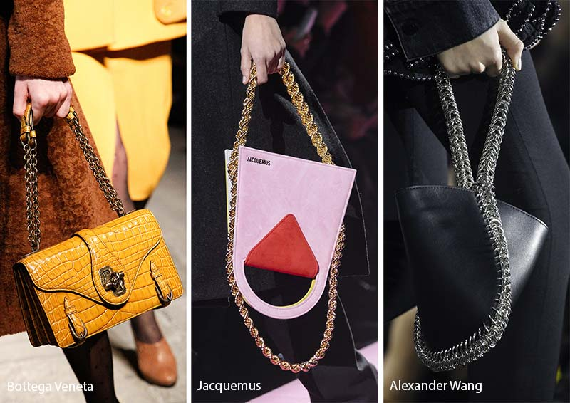 Fall/ Winter 2017-2018 Handbag Trends: Bags with Chain Straps