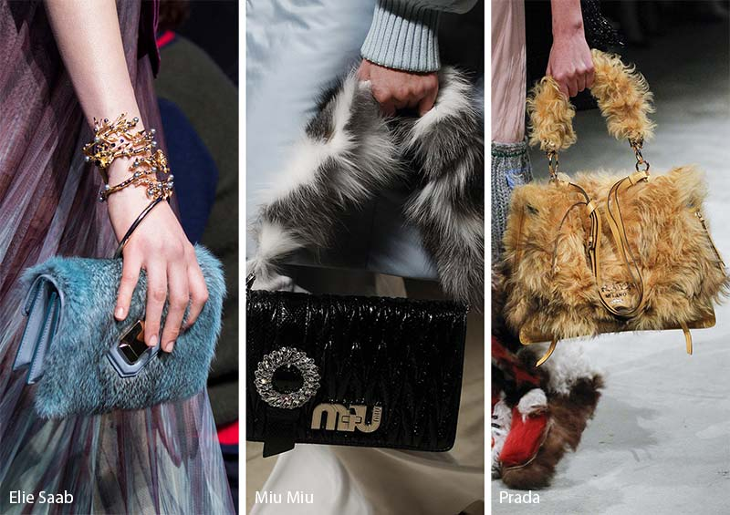 Fall/ Winter 2017-2018 Handbag Trends: Fur Bags