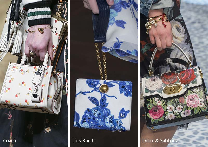 Fall/ Winter 2017-2018 Handbag Trends: Printed Bags