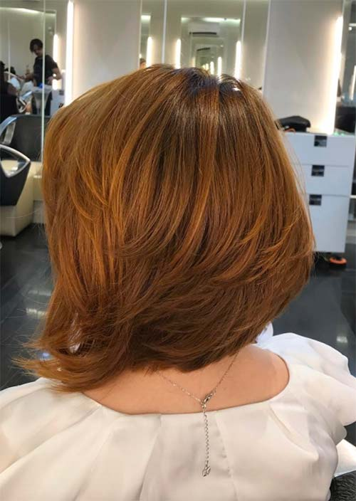 Haircuts & Hairstyles for Women Over 50: Sun-Kissed Red Hair