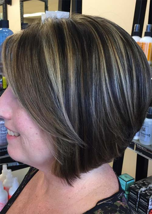 Haircuts & Hairstyles for Women Over 50: Rainbow Streaks