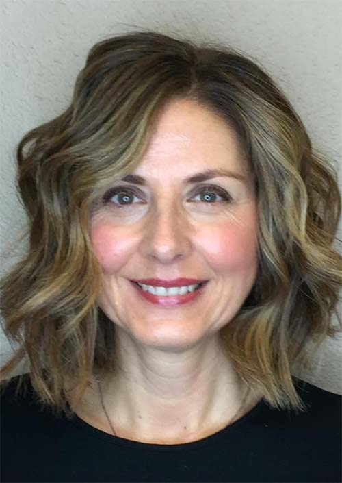 Haircuts & Hairstyles for Women Over 50: Shoulder-Length Waves