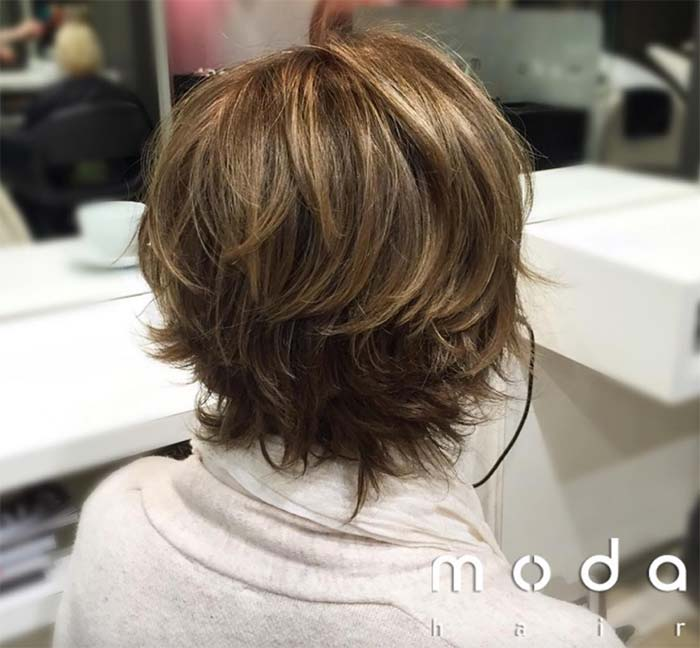 Haircuts & Hairstyles for Women Over 50: Textured Short Cut