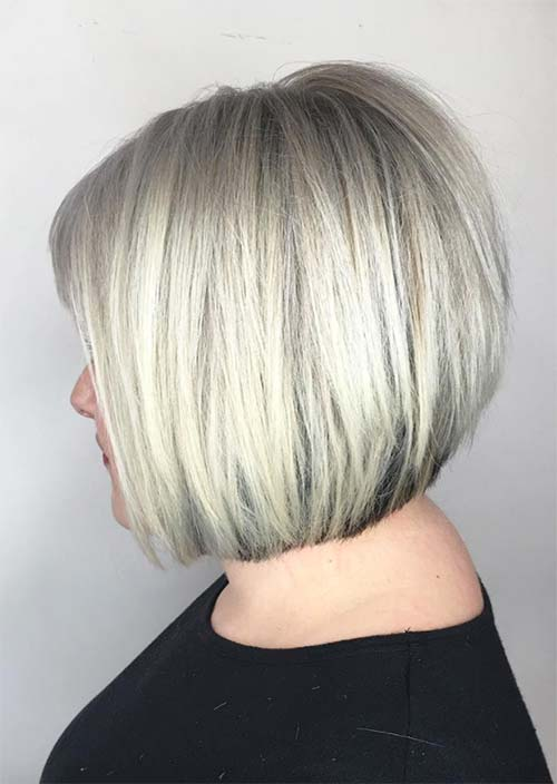 Haircuts & Hairstyles for Women Over 50: Polar Bear Ice