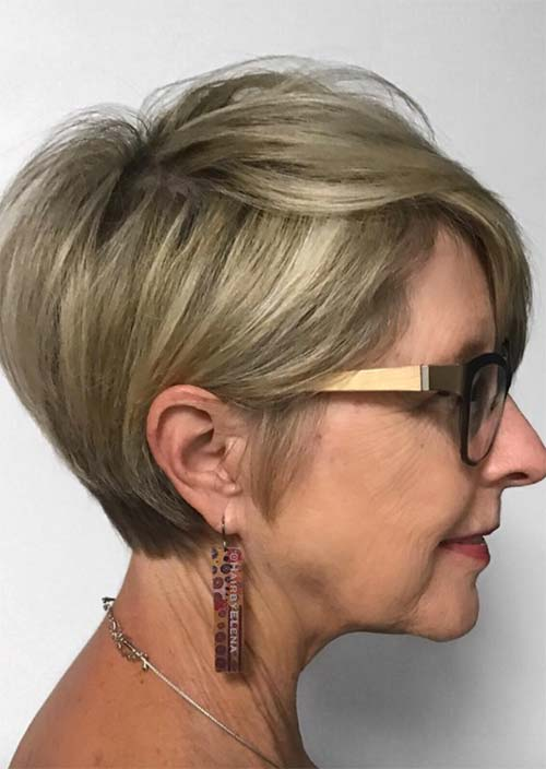 How to Choose Haircuts for Women Over 50