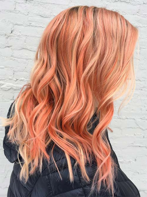 67 Pretty Peach Hair Color Ideas How To Dye Your Hair