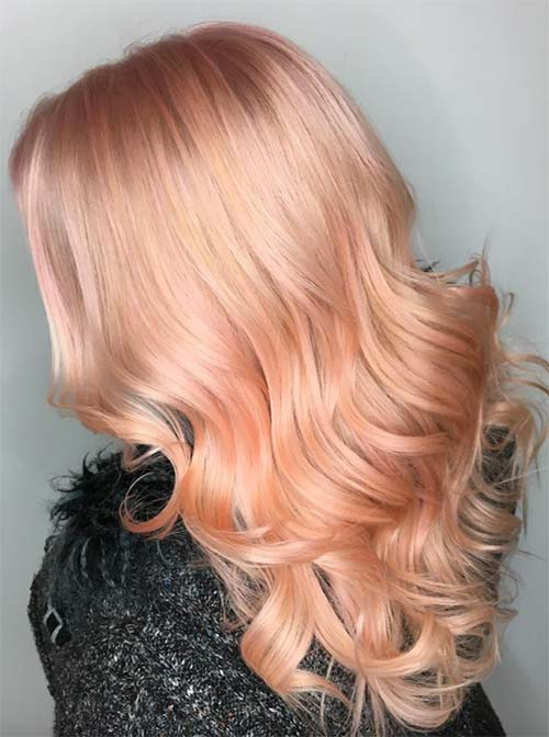 26 pretty peach hair color ideas how to dye your hair