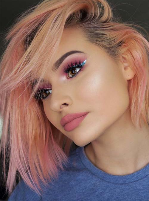 26 Pretty Peach Hair Color Ideas How To Dye Your Hair Peach Glowsly