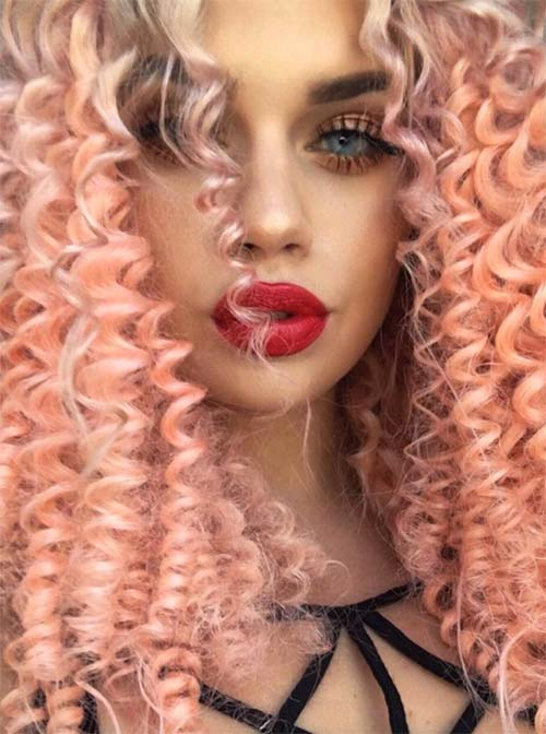 67 Pretty Peach Hair Color Ideas How To Dye Your Hair Peach