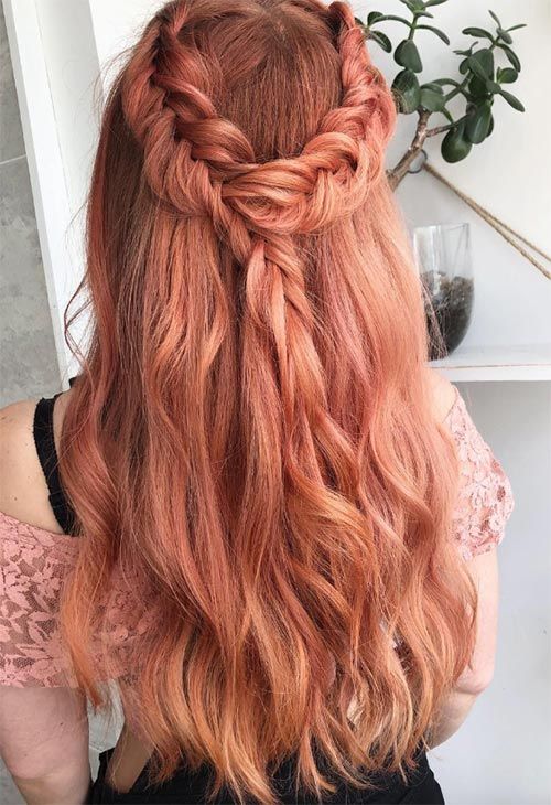 Peach Hair Dye Tips