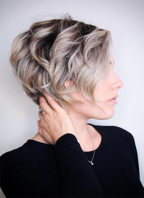Short Curly Hairstyles: Curly Pixie