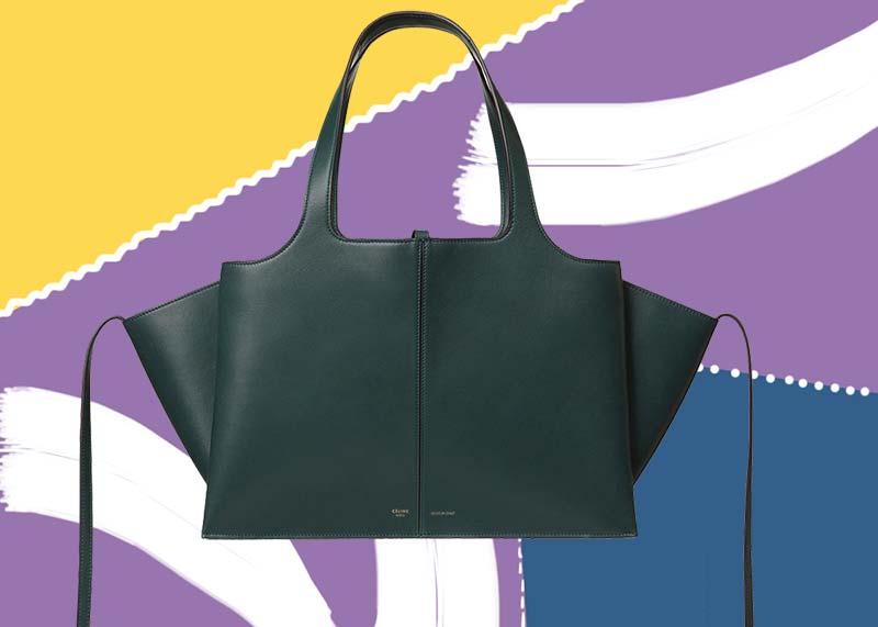 Best Celine Bags of All Time: Celine Tri-Fold Bag