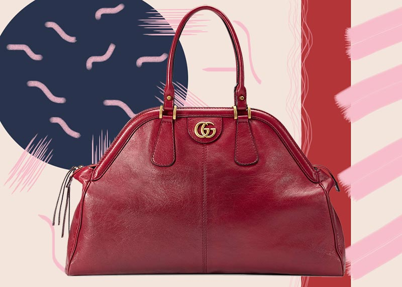 b4f71a204d16 Best Gucci Bags of All Time: Gucci Re(Belle) Top Handle Tote