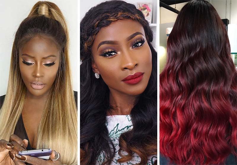 Best Hair Colors For Dark Skin With Red and Orange Undertones