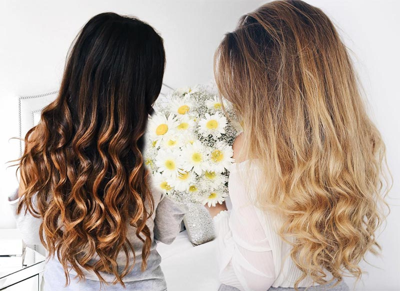 Style Wavy Hair: 51 Chic Long Curly Hairstyles: How To Style Curly Hair