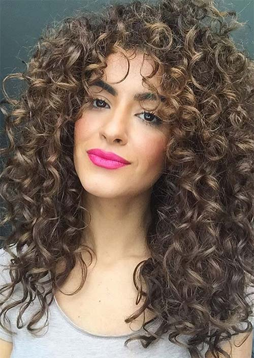 Long Curly Hairstyles Ideas