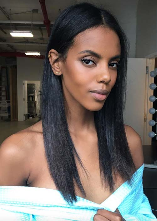Tallest Models In Fashion History: Grace Mahary