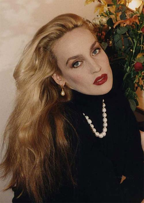 Tallest Models In Fashion History: Jerry Hall