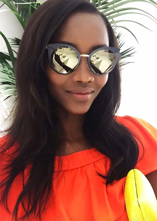 Tallest Models In Fashion History: Oluchi Onweagba