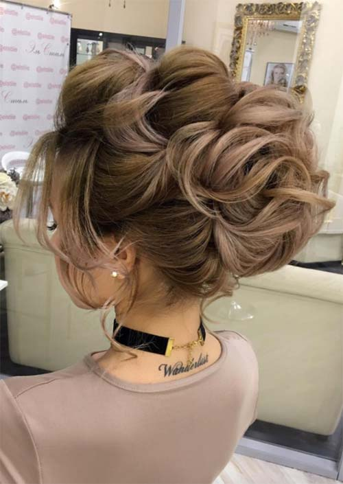 Bridal/ Wedding Updos Hairstyles: Victorian Inspired Wedding Updo