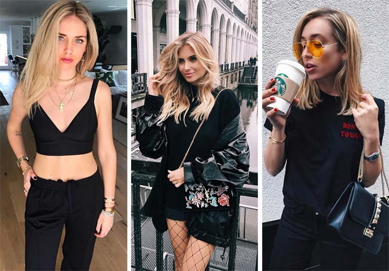 Fashion Tips For Blondes What Colors Look Good On Blondes Black