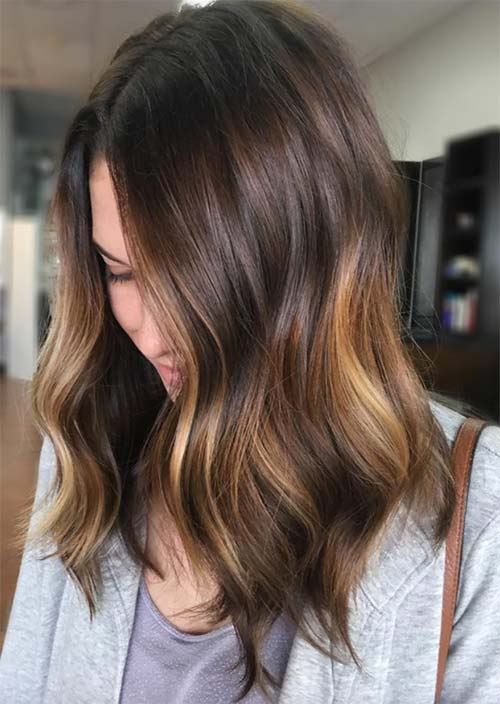 Balayage Hair Trend: Balayage Hair Colors & Balayage Highlights: Subtle Balayage