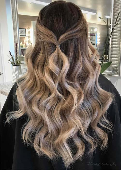 Balayage Hair Trend: Balayage Hair Colors & Balayage Highlights: Cool Balayage Ombre