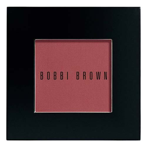 Best Blush Colors for Dark Skin with Cool Undertones: Bobbi Brown Blush in Berry
