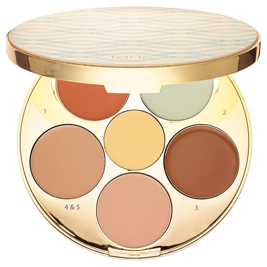 Best Color Correcting Makeup Palettes: Tarte Rainforest of the Sea Wipeout Color Correcting Palette