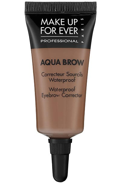 Best Eyebrow Products for Filling In Eyebrows: Make Up For Ever Aqua Brow Waterproof Eyebrow Corrector