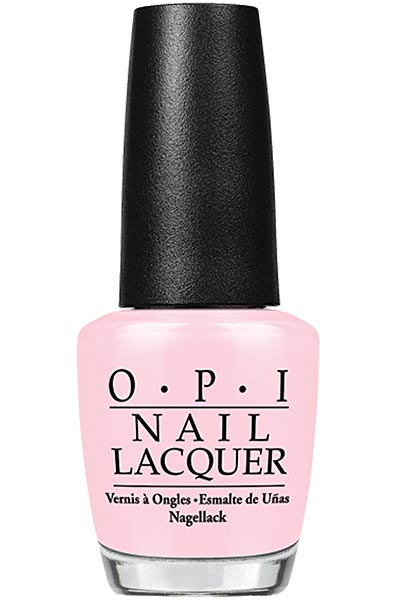 Best Millennial Pink Nail Polishes Colors: OPI Pink Nail Polish in Privacy Please