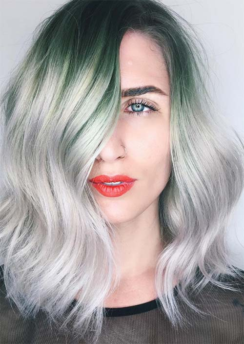 Grey Hair Dyeing Steps: Preparation Before Switching to Silver Hair Colors