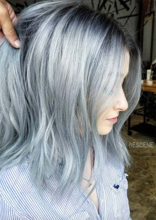 How to Maintain Silver/ Grey Hair Color
