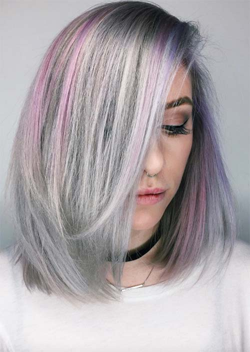 How to Dye Your Hair Grey or Silver