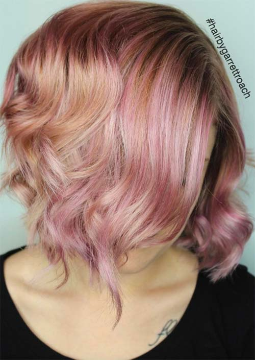 How to Maintain Rose Gold Hair Color