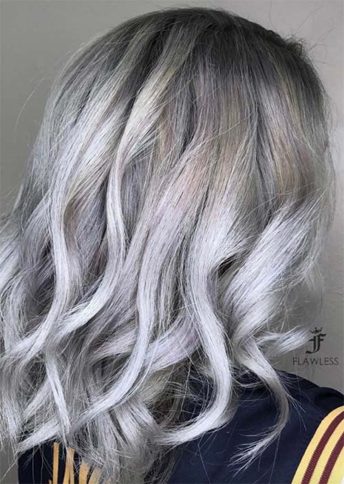 Silver Hair Trend 51 Cool Grey Hair Colors Amp Tips For