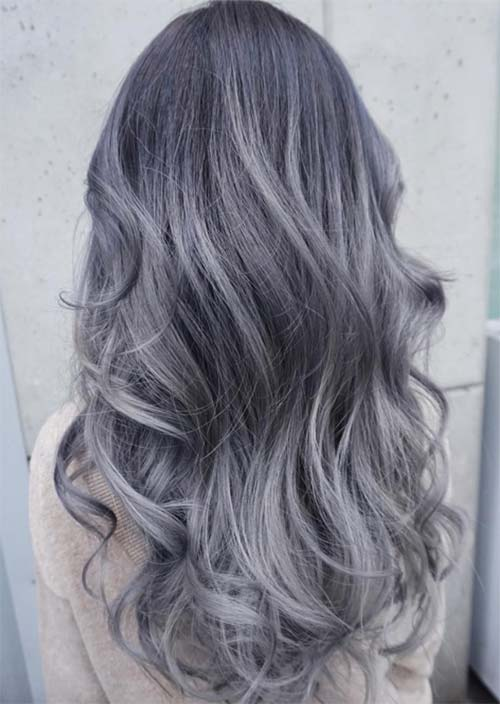 Silver Hair Trend 51 Cool Grey Hair Colors \u0026 Tips for Going