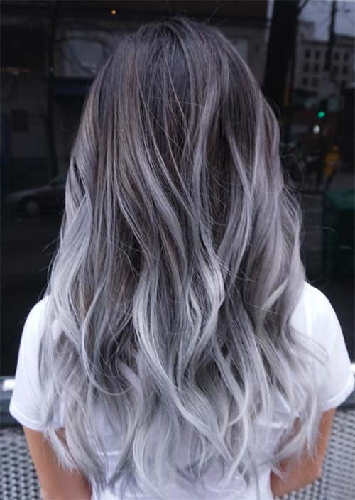 Silver Hair Trend: 51 Cool Grey Hair Colors & Tips for Going Gray ...