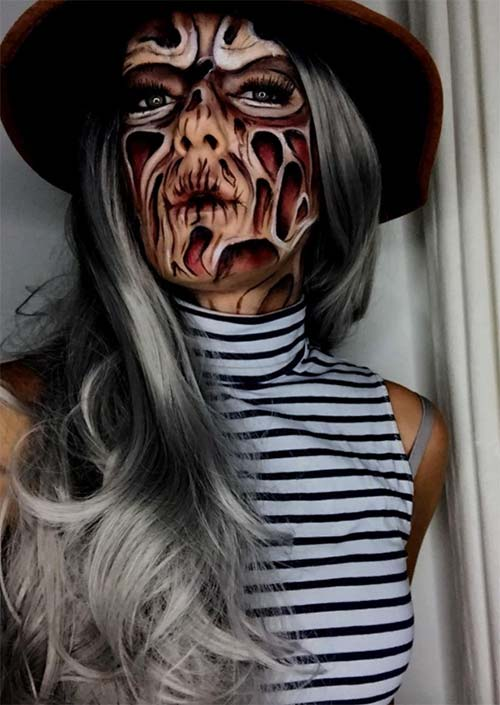 Halloween Makeup Ideas: Freddy Krueger Makeup for Halloween