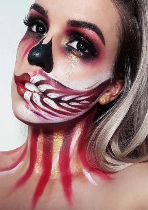 Halloween Makeup Ideas: Creative Skull Makeup for Halloween